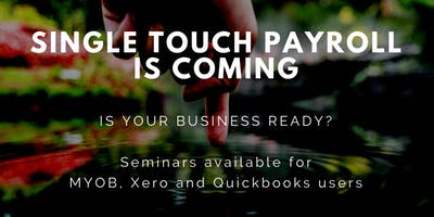 Single Touch Payroll Information Session - MYOB Account Right Users