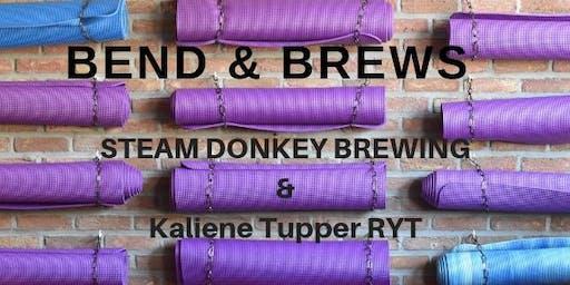 Bend & Brews: Beer and Yoga