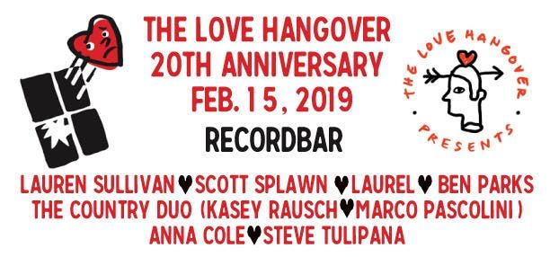 MATINEE:  THE LOVE HANGOVER 2019 : RESCHEDULED