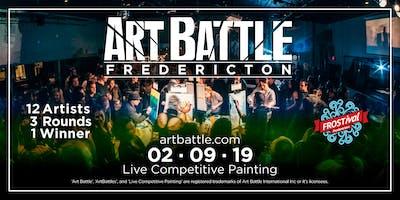 Art Battle Fredericton FROSTival - February 9, 2019