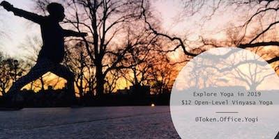 $12 Open-Level Vinyasa Yoga Class | Free Pre-Registration