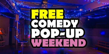 Free Pop-Up Summer Comedy Nights tickets