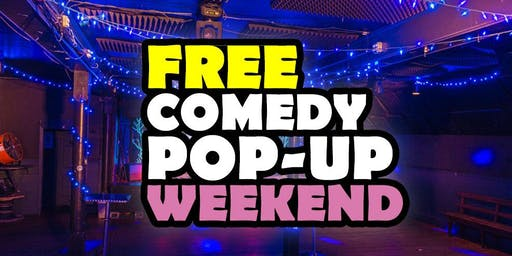 Free Pop-Up Summer Comedy Nights