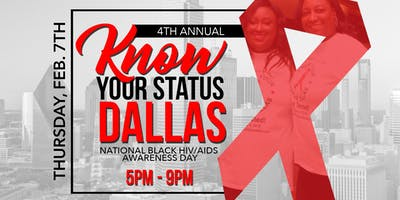 Know Your Status Dallas (National Black HIV/AIDS Awareness Day) - Free Testing
