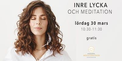 Inre lycka och meditation i Malmö