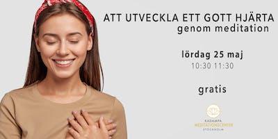 Att utveckla ett gott hjärta genom meditation | i Malmö