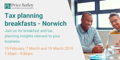 Tax Planning Breakfast March