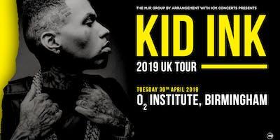 Kid Ink O Institute Birmingham