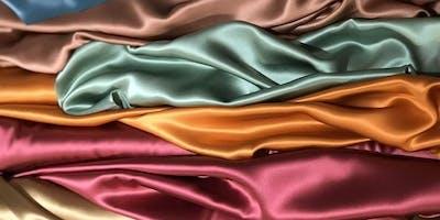 Textile Fabrics - Mar 23, 10:30 – 2:30 Silk Charmeuse Sit-n-Sew