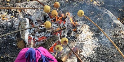 Sticky Campfire Apples and Survival Dens at Ryton Pools Country Park