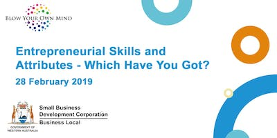 Entrepreneurial Skills and Attributes - which have you got?