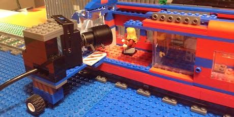 Lego Trickfilm Ferienworkshop für 7-11 Jährige 4-tägig VORMITTAGS Sommer5 Tickets