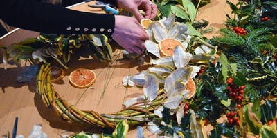 Christmas Wreath and Star Workshop at Ryton Pools Country Park