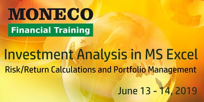 Investment Analysis in MS Excel: Risk/Return Calculations and Portfolio Management