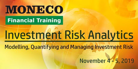 Investment Risk Analytics - Concepts and Applications tickets