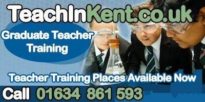 Teach in Kent information evening