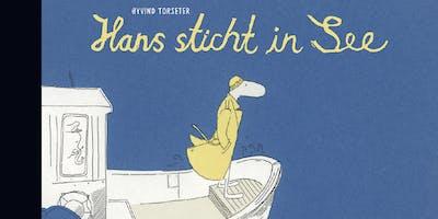 Zeichen-Workshop (9-12 J.) mit Illustrator Øyvind
