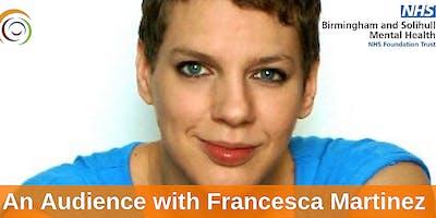 An Audience Francesca Martinez Q A Book Signing