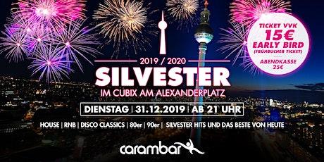Silvester im Cubix am Alexanderplatz Berlin 2019/2020 tickets