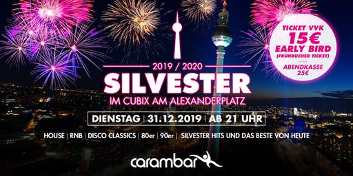 Silvester im Cubix am Alexanderplatz Berlin 2019/2020