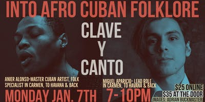 Into Afro Cuban, Clave y Canto