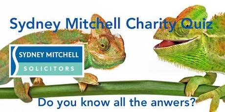 Sydney Mitchell LLP Charity Quiz Night 2020 tickets