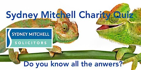 Sydney Mitchell LLP Charity Quiz Night 2020 tickets