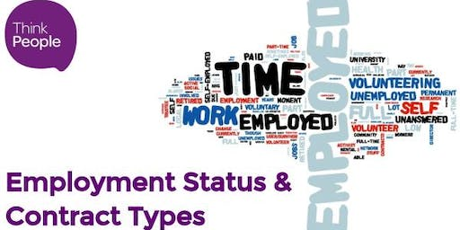 Employment Status & Contract Types