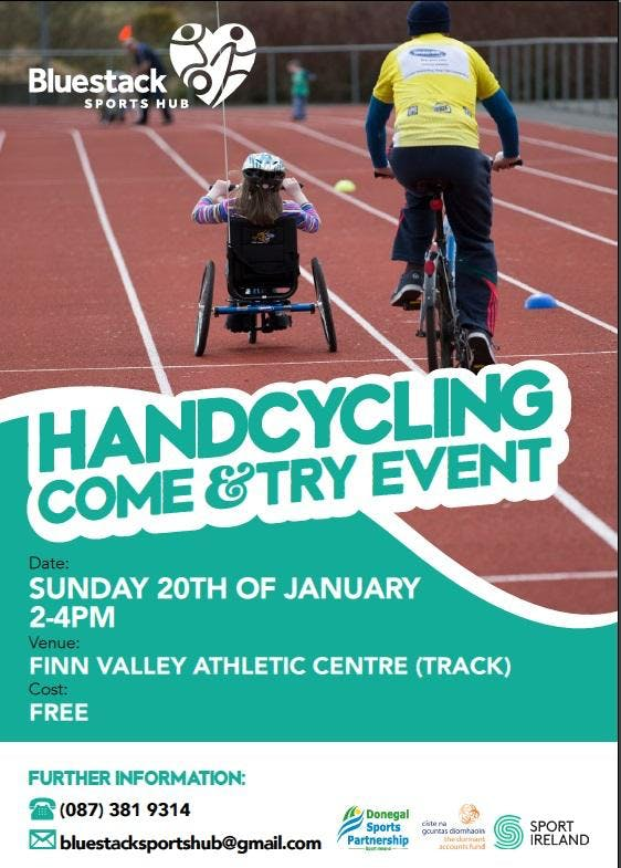 Handcycling - Come & Try Event