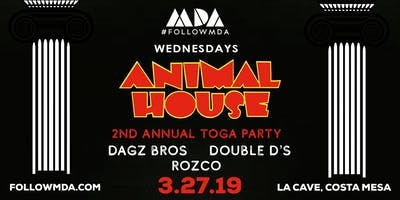 MDA Wednesdays Animal House