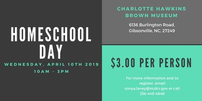 Homeschool Day at Charlotte Hawkins Brown Musuem