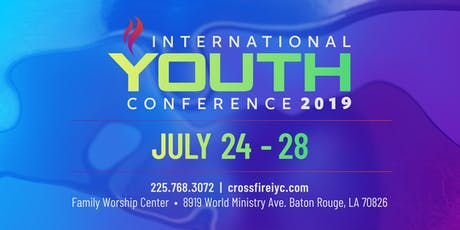 Crossfire International Youth Conference 2019 tickets