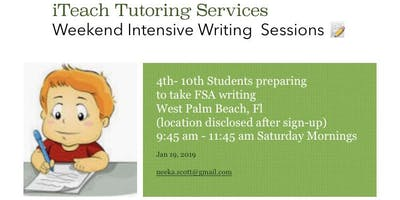 iTeach Writing tutoring sessions