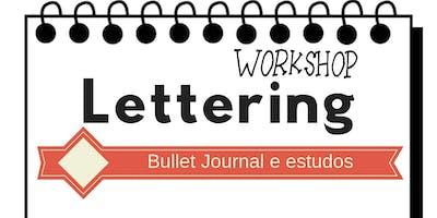 Workshop de Hand Lettering - Para estudos e Bullet Journal