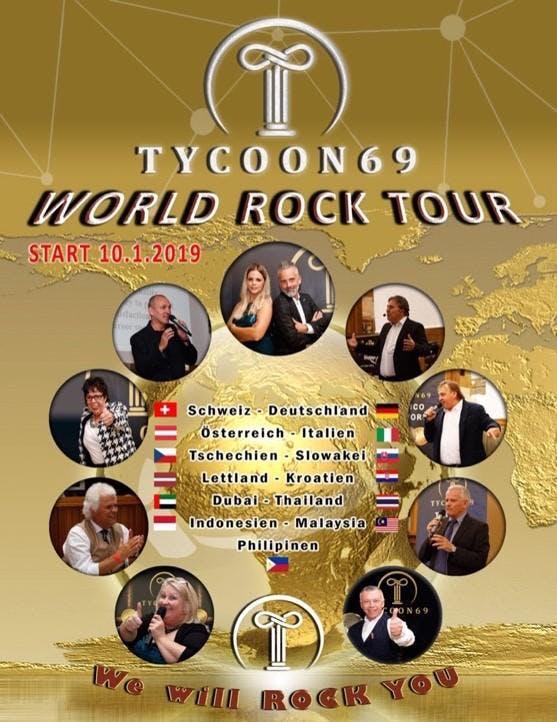 Tycoon69 World Rock Tour