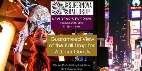 New Year's Eve 2020 with a GUARANTEED direct view of the Ball Drop for ALL OUR GUESTS (Times Square) - December 31, 2019 tickets