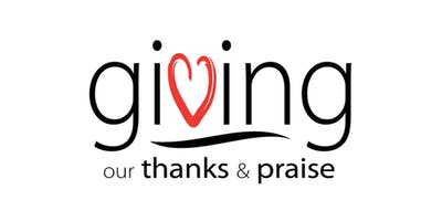 Giving Our Thanks & Praise - This workshop is open to ALL clergy and lay leaders, across the Diocese - deadline Sept. 19