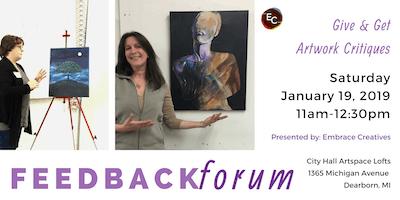 Feedback Forum for Artists & Designers