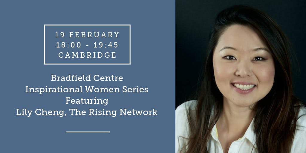 Bradfield Centre Inspirational Women Series ft. Lily Cheng, Rising Network