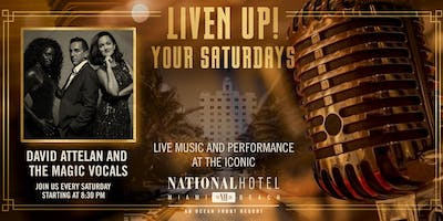 Saturday LIVE Music at The National Hotel Miami Beach
