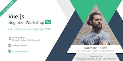 Vue Beginners Workshop 2019