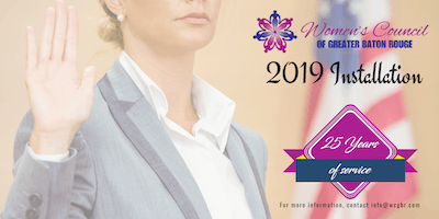 Women's Council of Greater Baton Rouge 2019 Installation