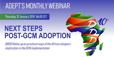 NEXT STEPS POST-GCM ADOPTION Webinar