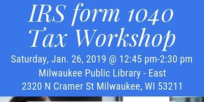 IRS form 1040 Tax Workshop