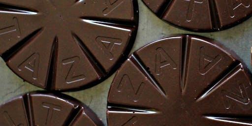 塔扎巧克力的可可和有氧运动