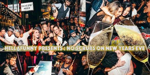 No Scrubs: 90年代嘻哈和RnB新年夜舞会,免费香槟吐司