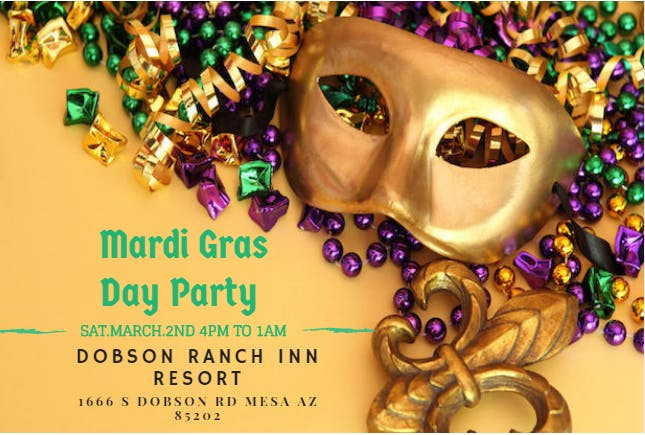 The Mardi Gras Day Party 2019