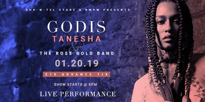 GodIs Tanesha & The Rose Gold Band Live