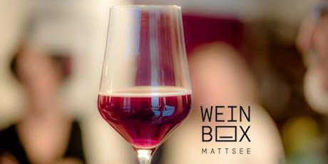 WEINBOX Weinseminar Wein ABC Tickets