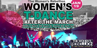 The Women's Rebellion T-DANCE After the womens march